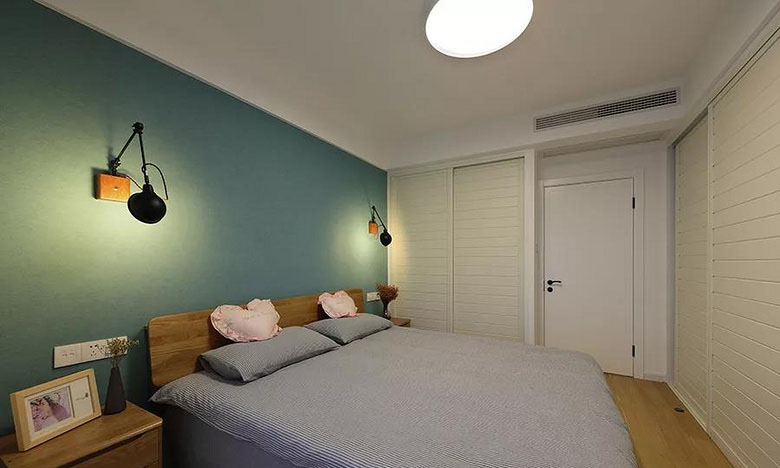 卧室图片来自家装大管家在质朴清雅 97平日式原木系空间的分享