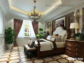 别墅 地中海 金秋 泰和郡 卧室图片来自快乐彩在金秋泰和郡338平别墅装修的分享