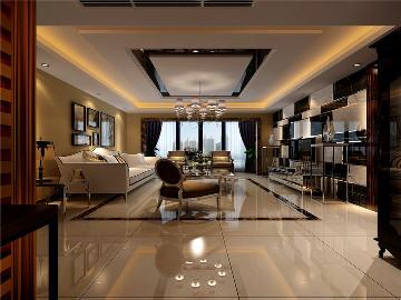 振业泊岸四室152平现代简约风格
