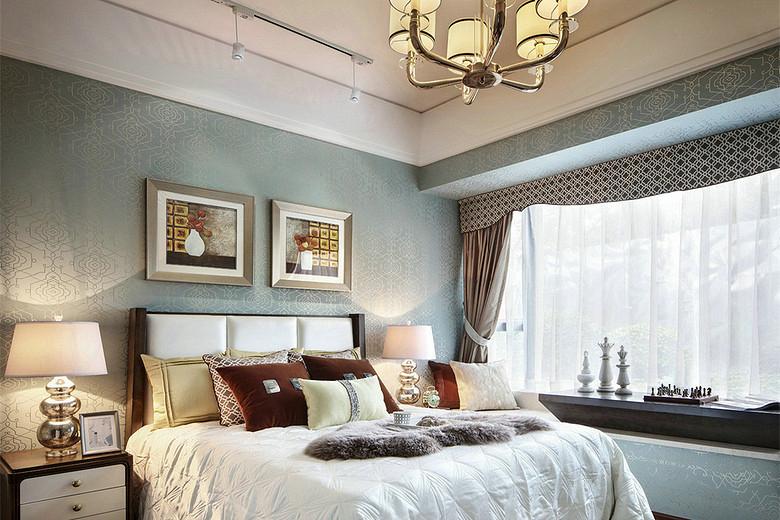 卧室图片来自我是小样在西旅·逸都四室148平现代简约风格的分享