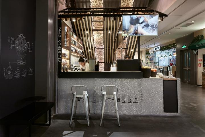 简约 现代 混搭 茶吧设计 茶吧装修 装修设计 餐厅图片来自尚品老木匠装饰设计事务所在TEA时尚茶吧设计的分享