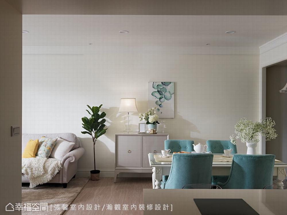 二居 美式 客厅图片来自幸福空间在纯真而典雅 112平日光美式居宅的分享