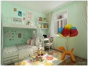 简约 简美 美式 二居 白领 小资 儿童房图片来自阳光放扉er在力天装饰-富景花园-60㎡-简美的分享