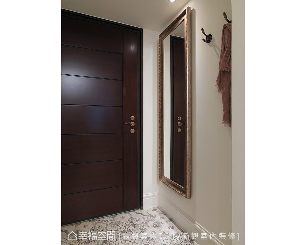 二居 美式 玄关图片来自幸福空间在纯真而典雅 112平日光美式居宅的分享