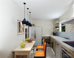 北欧 欧式 二居 收纳 小资 白领 厨房图片来自阳光放扉er在力天装饰-诺诚广场-88㎡-北欧的分享