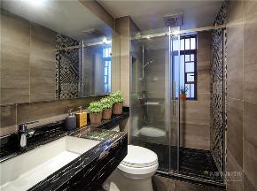 北欧 欧式 四居 白领 品味 简约 卫生间图片来自广州名雕装饰在现代北欧风,自然与舒适完美结合的分享