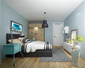 北欧 欧式 二居 收纳 小资 白领 卧室图片来自阳光放扉er在力天装饰-诺诚广场-88㎡-北欧的分享