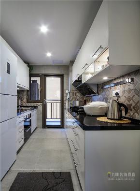 北欧 欧式 四居 白领 品味 简约 厨房图片来自广州名雕装饰在现代北欧风,自然与舒适完美结合的分享