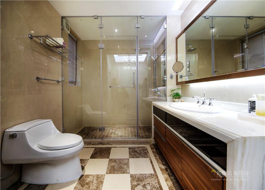 新古典 现代 四居室 奢华 高贵 卫生间图片来自广州名雕装饰在中海千灯湖一号实景:简约而高贵的分享