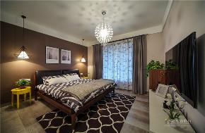 北欧 欧式 四居 白领 品味 简约 卧室图片来自广州名雕装饰在现代北欧风,自然与舒适完美结合的分享