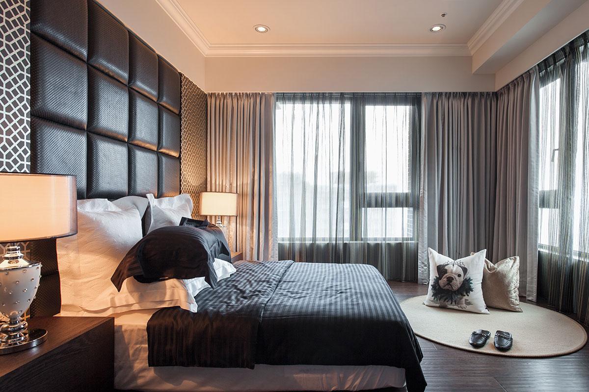 卧室图片来自我是小样在MOMOPARK三室118平现代简约风格的分享