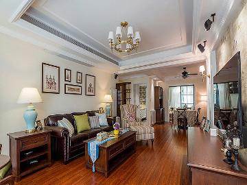 安静的生活 180平美式淡雅3居室