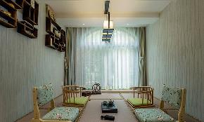 美式 混搭 三居 小资 书房图片来自家装大管家在安静的生活 180平美式淡雅3居室的分享