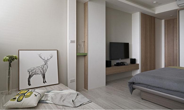 卧室图片来自家装大管家在庭院深深 109平现代简约舒适3居的分享