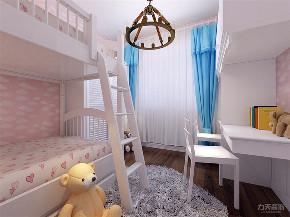 地中海 三居 收纳 小资 儿童房图片来自阳光力天装饰在力天装饰-双青新家园-80㎡的分享