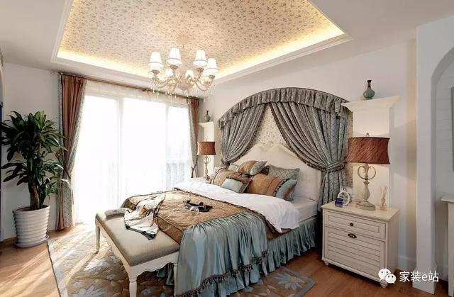 地中海 卧室图片来自宜宾宅心装饰在地中海风格实景的分享