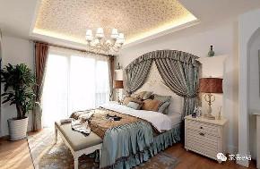 地中海 卧室图片来自家装e站乐山站在地中海风格实景的分享