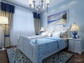 地中海 三居 收纳 小资 卧室图片来自阳光力天装饰在力天装饰-双青新家园-80㎡的分享