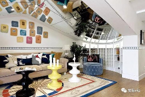 地中海 客厅图片来自宜宾宅心装饰在地中海风格实景的分享