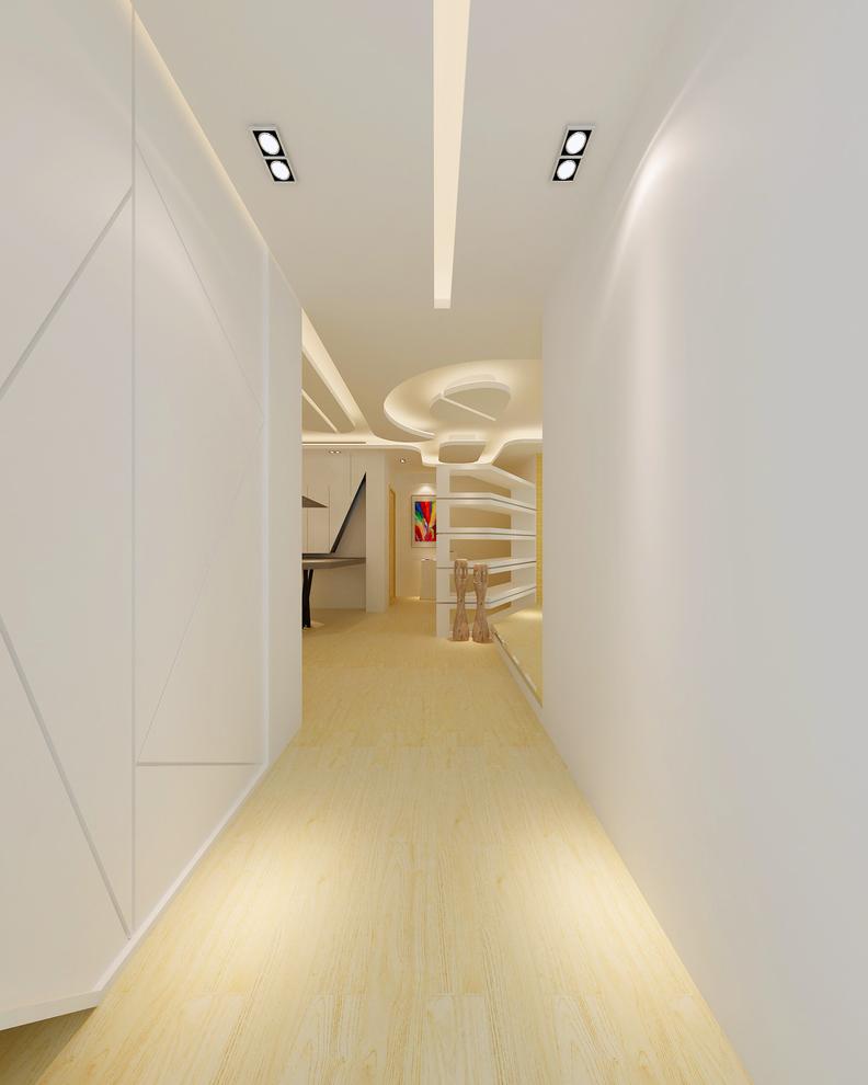 其他图片来自我是小样在秦岭北麓三室122平现代风格的分享