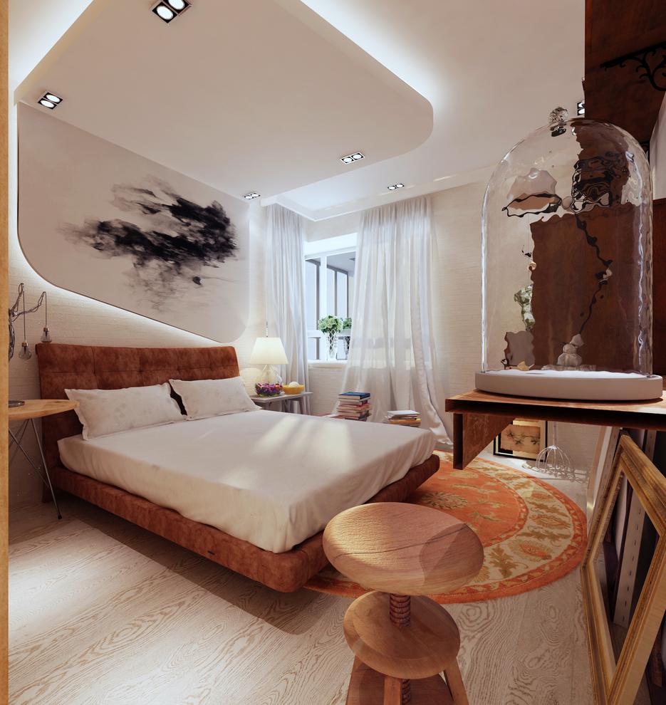 卧室图片来自我是小样在秦岭北麓三室122平现代风格的分享