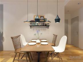 北欧 三居 白领 收纳 小资 80后 餐厅图片来自阳光放扉er在力天装饰道俊华园101㎡-北欧风格的分享