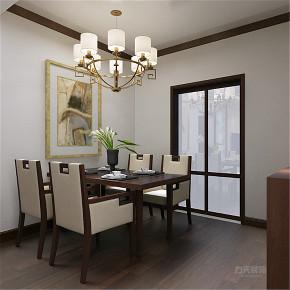 中式 二居 收纳 80后 小资 餐厅图片来自阳光放扉er在力天装饰-河海花园75㎡-中式的分享