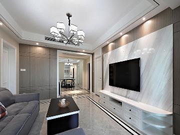美观舒适 139平现代大气风3居室