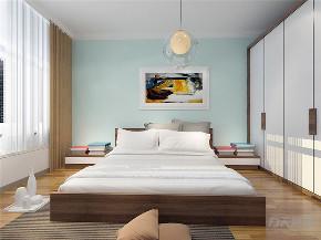 北欧 三居 白领 收纳 小资 80后 卧室图片来自阳光放扉er在力天装饰道俊华园101㎡-北欧风格的分享