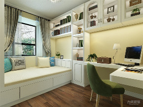 中式 三居 白领 80后 卧室图片来自阳光力天装饰在力天装饰-朝阳花园158㎡新中式的分享