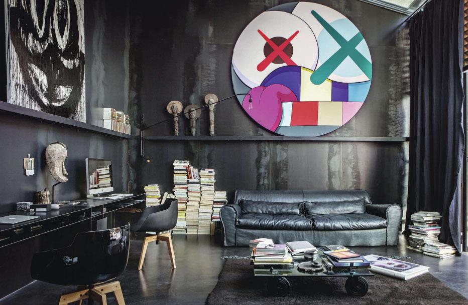 秦岭北麓 四室 现代 峰光无限 客厅图片来自我是小样在秦岭北麓四室156平现代风格的分享