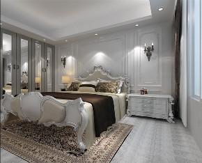 简约 欧式 三居 白领 北欧 卧室图片来自阳光力天装饰在力天装饰-福嘉园-83.7㎡-北欧的分享