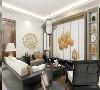 在室内色彩方面,本案以红色、暗红、琉璃黄、长城灰、玉脂白、水墨黑和木原色来打造新中式的气氛。
