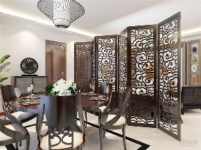 中式 三居 白领 收纳 小资 餐厅图片来自阳光放扉er在力天装饰-万隆花园118㎡中式风格的分享
