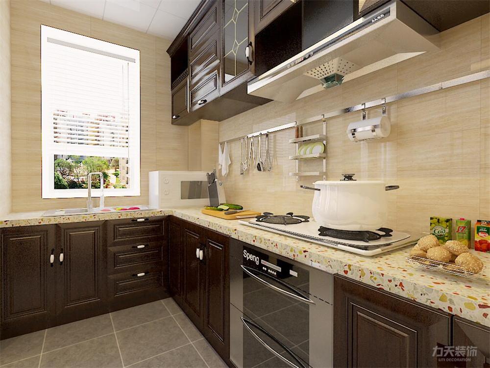 中式 二居 白领 收纳 小资 厨房图片来自阳光力天装饰在力天装饰-远洋风景80㎡新中式的分享