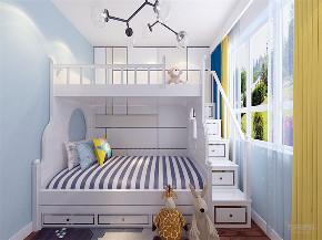 简约 现代 二居 收纳 小资 儿童房图片来自阳光力天装饰在力天装饰-福松苑庄-69㎡-现代的分享