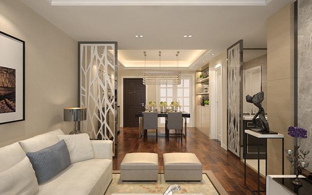 客厅图片来自我是小样在创汇社区三室120平现代风格的分享