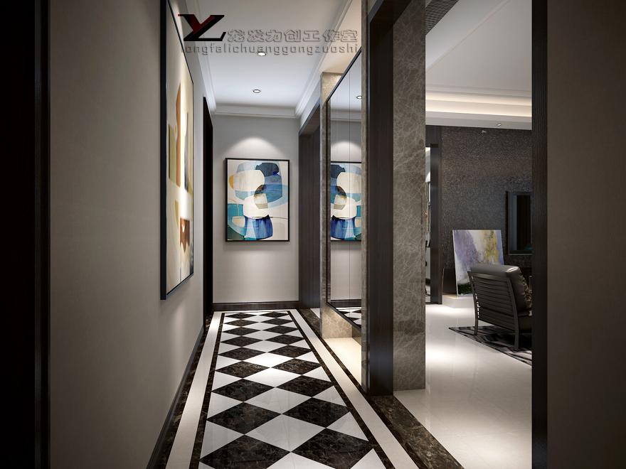 中央领郡 现代简约 四居室图片来自西安龙发室内设计在中央领郡·现代简约风格·四居室的分享