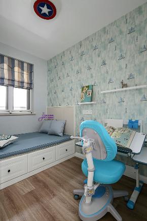 田园 美式 二居 小资 儿童房图片来自无锡吉友洪设计工作室在美式 | 笙夏的分享