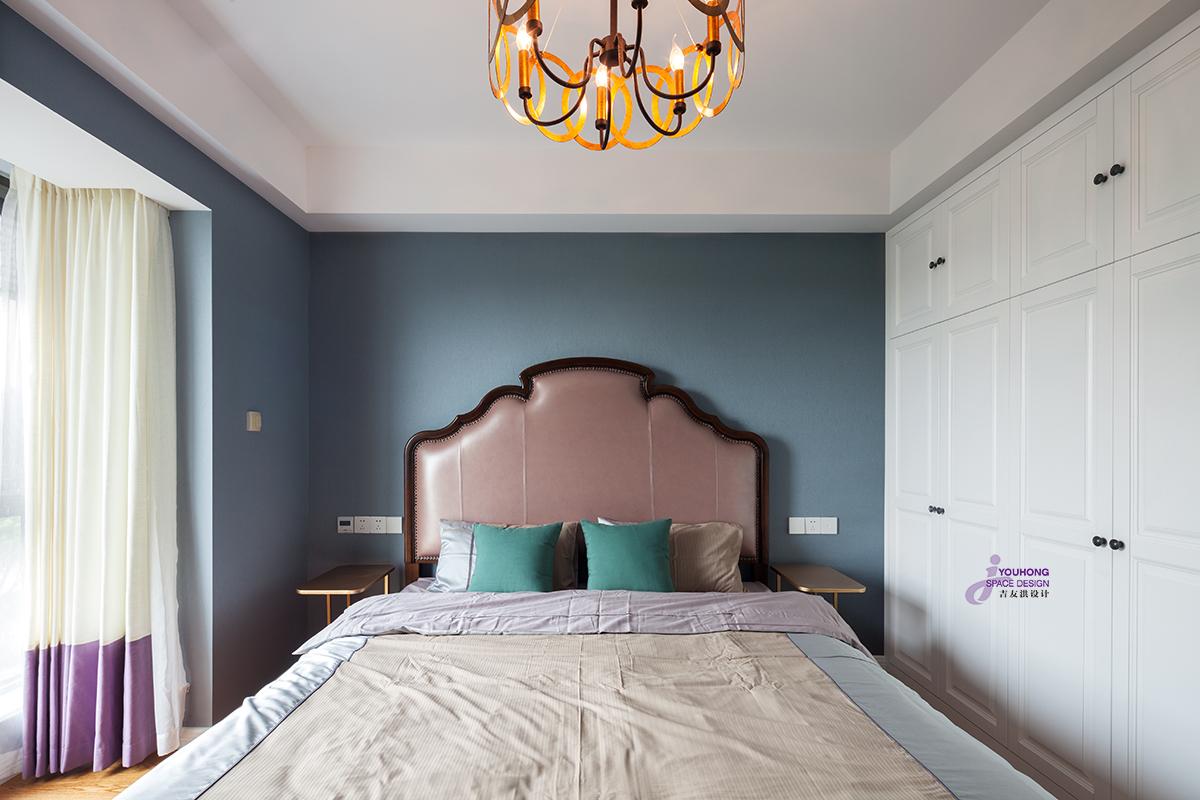 80后 美式 精致 卧室图片来自无锡吉友洪设计工作室在美式   素年锦时的分享