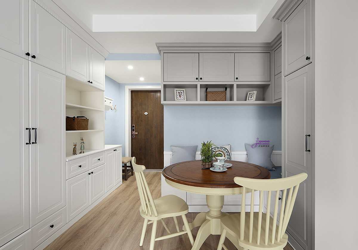 田园 美式 二居 小资 餐厅图片来自无锡吉友洪设计工作室在美式   笙夏的分享