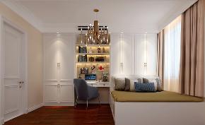 欧式 田园 混搭 三居 白领 收纳 书房图片来自圣奇凯尚室内设计工作室在圣奇凯尚-极致简美的分享