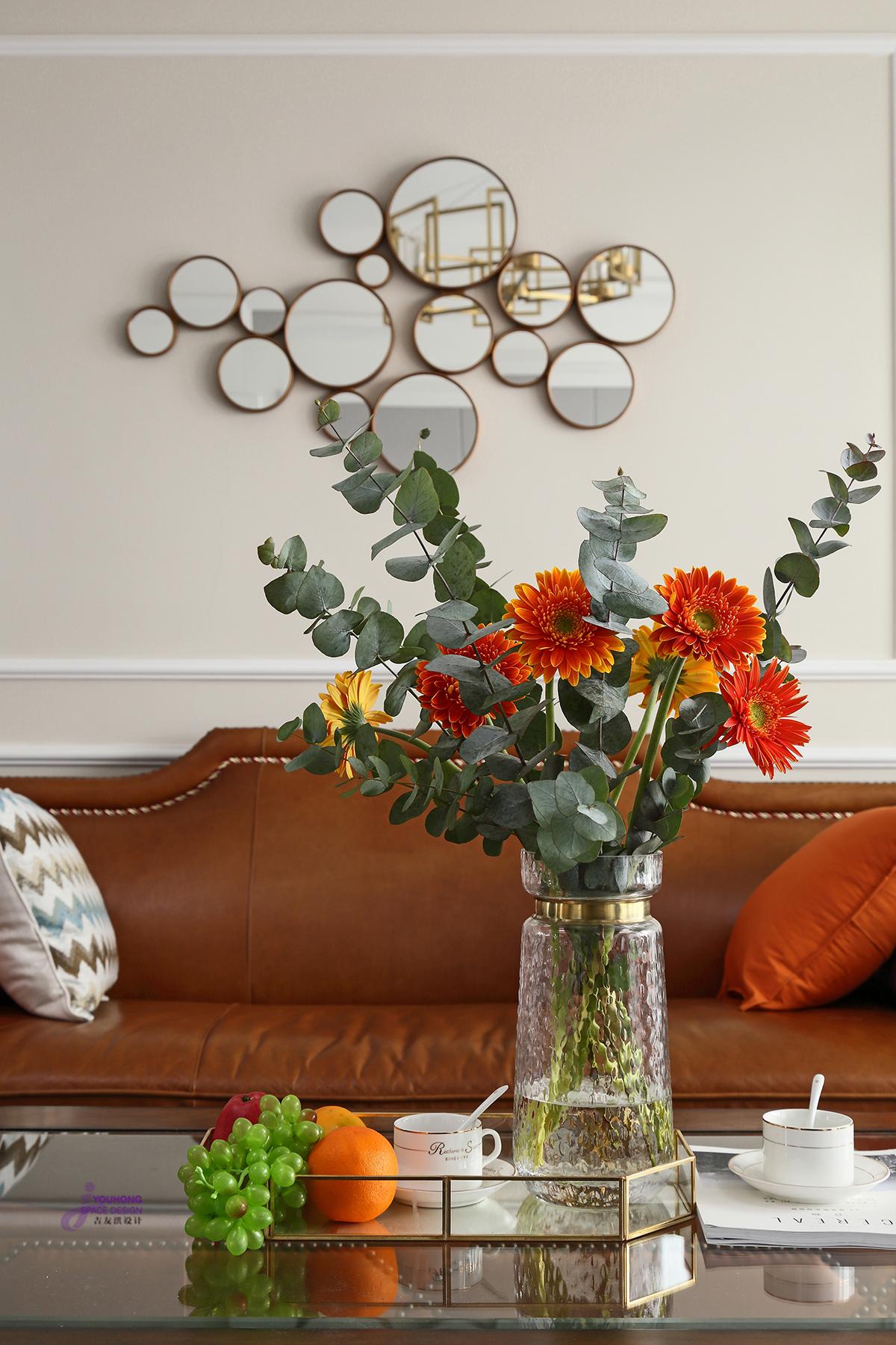 美式 三居 80后 客厅图片来自无锡吉友洪设计工作室在美式   云渡的分享
