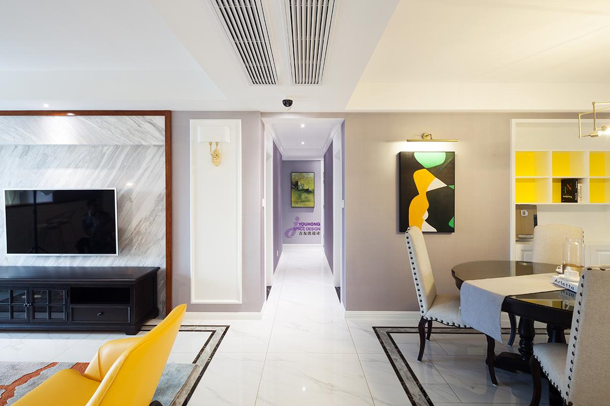 80后 美式 精致 客厅图片来自无锡吉友洪设计工作室在美式 | 素年锦时的分享