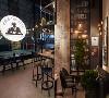 曼哈顿风格咖啡厅设计