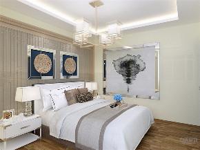 二居 中式 白领 收纳 小资 卧室图片来自阳光力天装饰在力天装饰-红星国际89㎡中式的分享