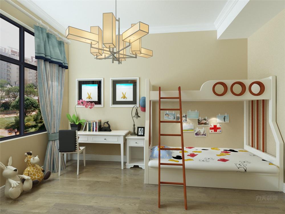 中式 二居 收纳 白领 小资 儿童房图片来自阳光力天装饰在力天装饰-天房天拖133㎡中式的分享
