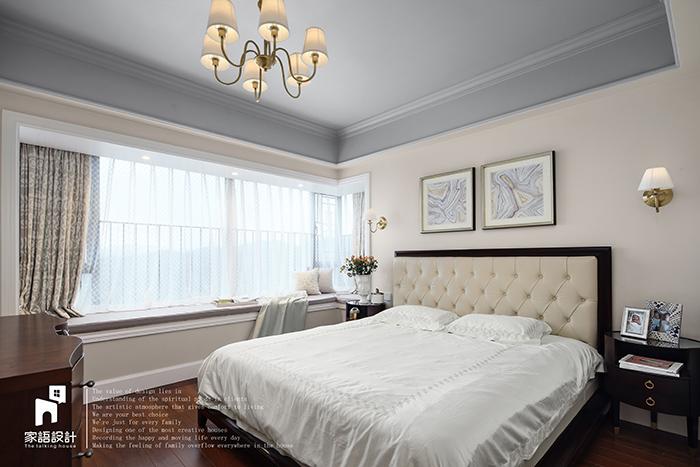 卧室图片来自家语设计张海妮工作室在那抹暖男色的分享