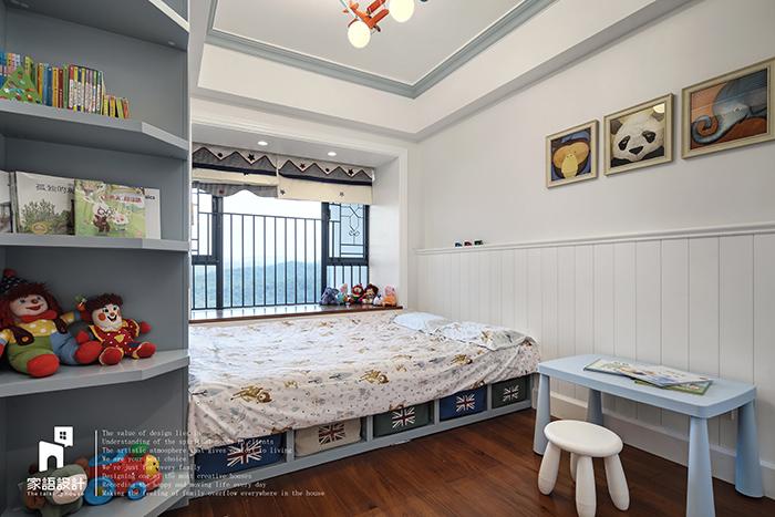 儿童房图片来自家语设计张海妮工作室在那抹暖男色的分享