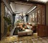 客厅作为待客区域,要稳重,用咖网地砖,且室主人喜欢乌金木,所以卧室客餐厅木色要相对红一点乌金木,使整体上更加华丽。